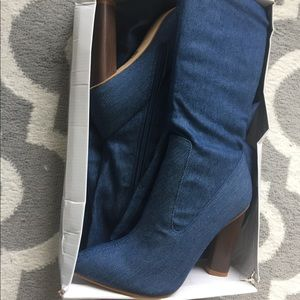 b155651b0be2 Nasty Gal Shoes - NASTY GAL BEYOND YOUR JEANS THIGH OVER THE KNEE